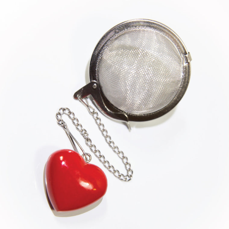 Infuser - Stainless Steel with Heart