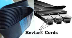 "Kevlar Banded Wedge 8VK V-Belts - [ 1"" ]"