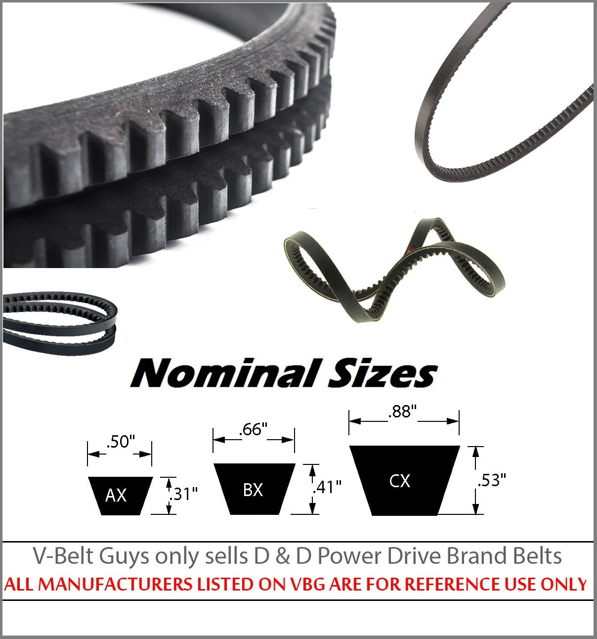 SIMPLICITY MANUFACTURING 1669394 Replacement Belt