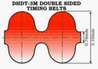 D3M  Double Sided Timing Belt