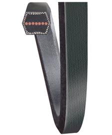 bb105_gates_oem_equivalent_double_angled_hex_belt