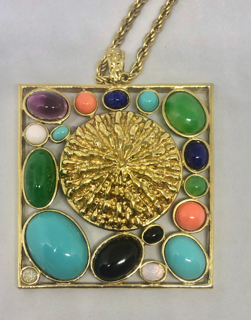 Pancetta Pendant Necklace 1975