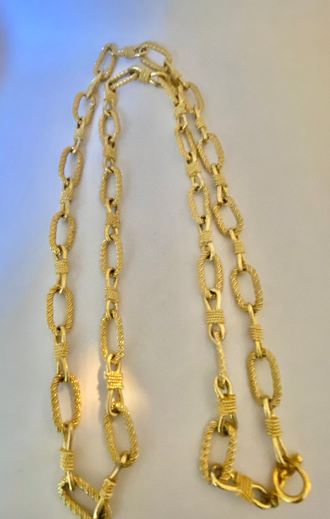 Thick chain nevklace