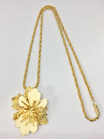 Balenciaga Flower Necklace