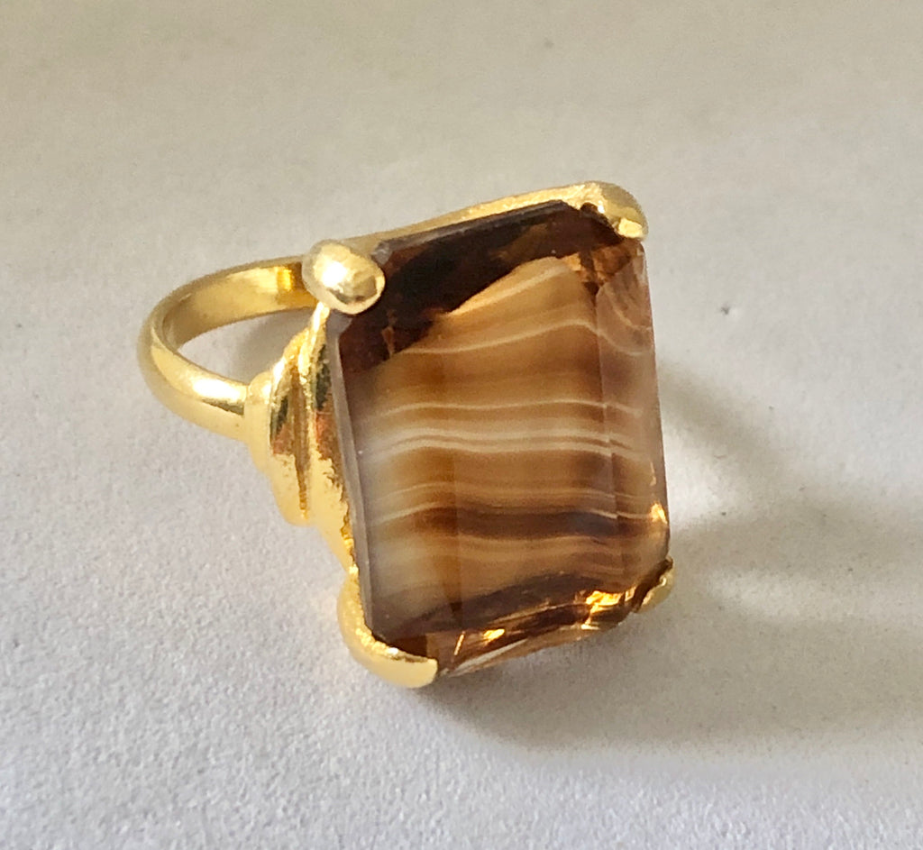 Brown Ring Size 5 1/2