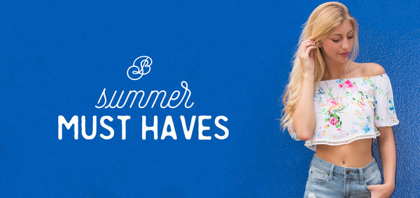 Three Summer Must Haves You'll Want to Beat the Heat