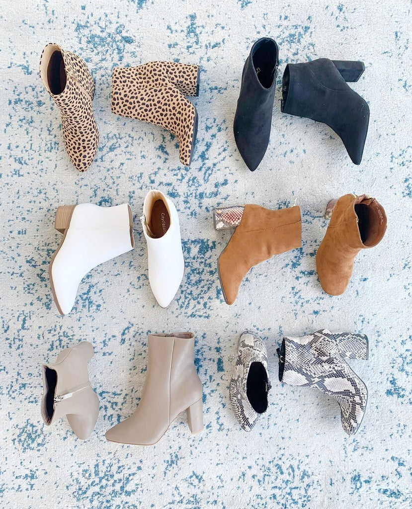FALL in Love with the Cutest Booties Around Town!