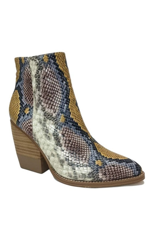 ADLEY SNAKE BOOTIES