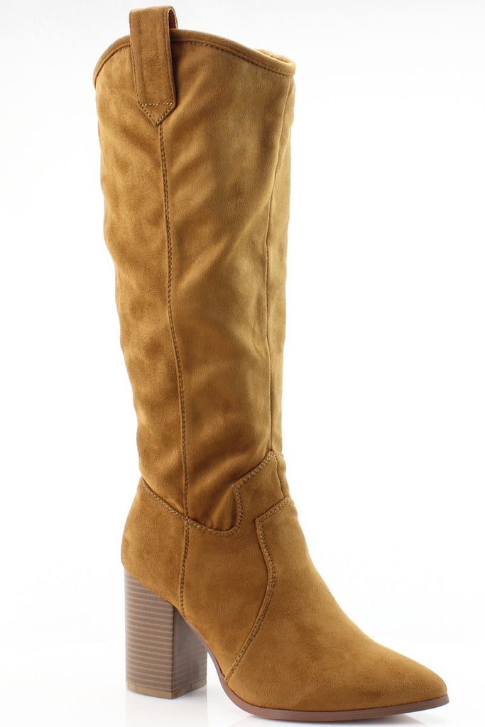HARPER COGNAC HIGH BOOT