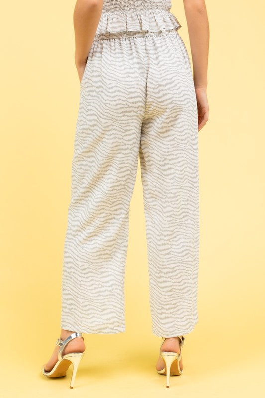 YOUR WAY ZEBRA PANTS | LE LIS Blu Spero online shopping