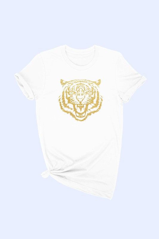 EASY TIGER GOLD FOIL TEE - 2 COLORS