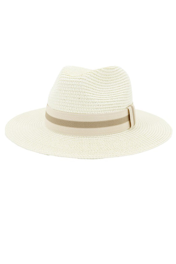 SUMMER FEDORA HAT - 4 COLORS