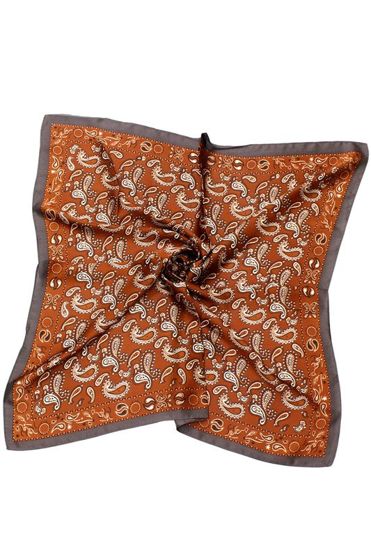 PAISLEY SCARF - 2 COLORS
