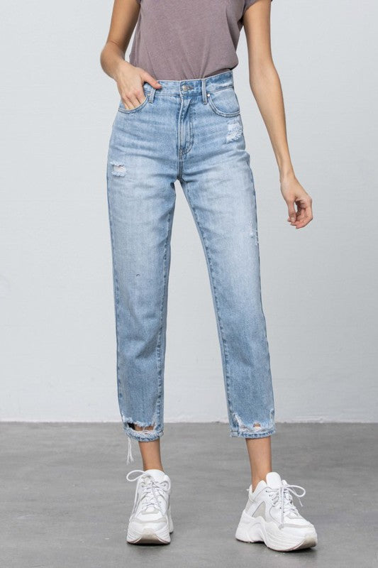 FAVORITE SONG TAPERED JEANS