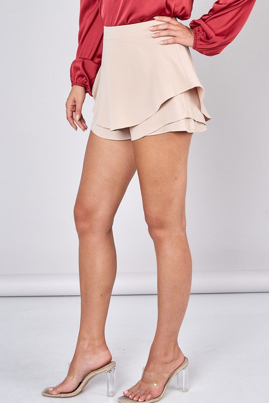 DON'T STARE AT ME RUFFLE SKORT | DO + BE Blu Spero online shopping