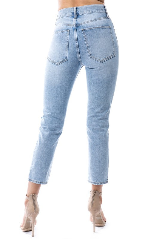 GIRLS DREAM LIGHT WASH DENIM | ON TWELFTH Blu Spero online shopping