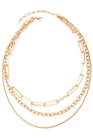 LAYERED GOLD TRIBE CHAIN NECKLACE | ANARCHY STREET Blu Spero online shopping