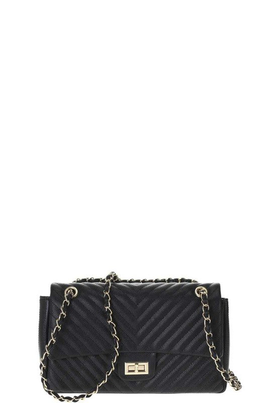 RECTANGLE FAUX LEATHER CROSSBODY | BAG BOUTIQUE Blu Spero online shopping
