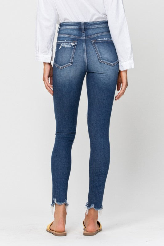 DREAMS HIGH RISE SKINNY DENIM | VERVET Blu Spero online shopping