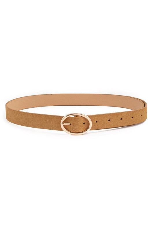 FAUX LEATHER TEXTURED BELT - 3 COLORS | ANARCHY STREET Blu Spero online shopping