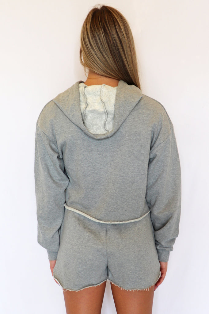 SOMETHING SPECIAL HOODIE TOP – 2 COLORS | Olivaceous Blu Spero online shopping