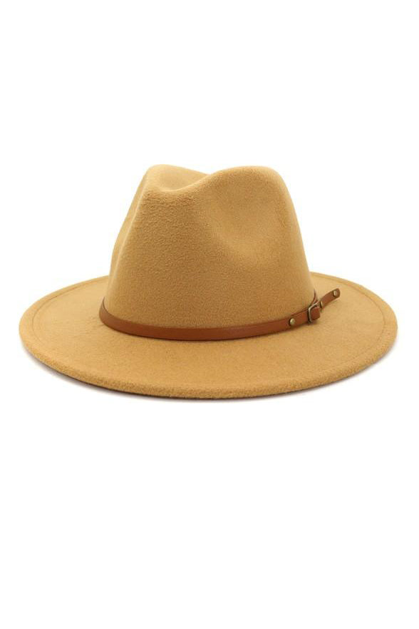 THIN BELT TRENDY HAT - 3 COLORS | ACCITY Blu Spero online shopping