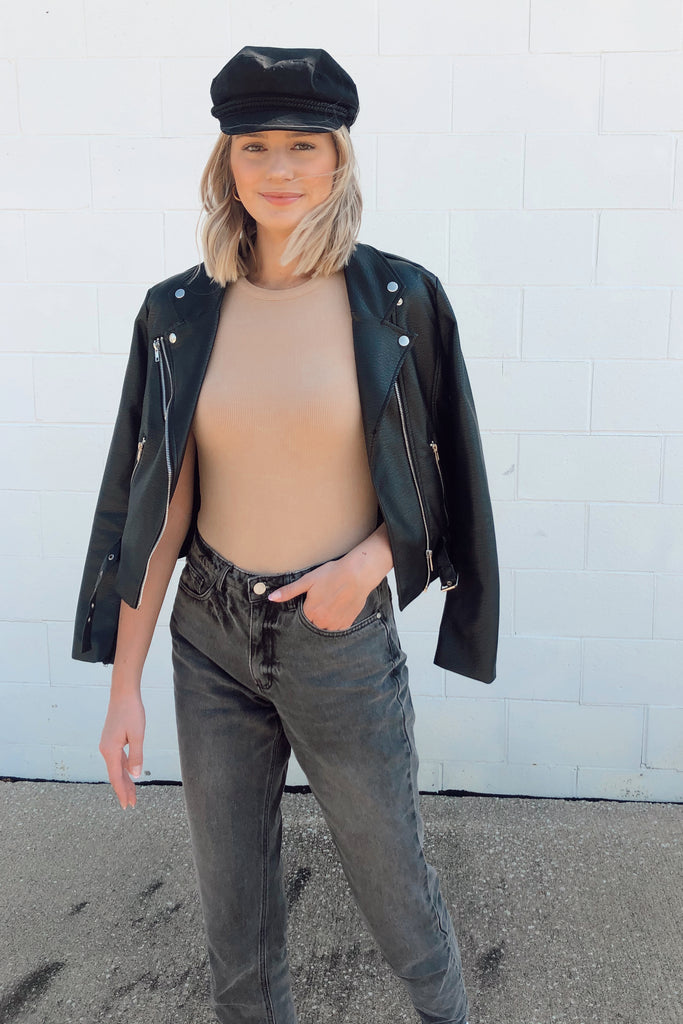 HANDS-ON YOU TAUPE BODYSUIT | LE LIS Blu Spero online shopping