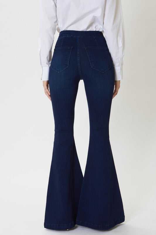 ONLY THE BEST HIGH RISE FLARES | KANCAN Blu Spero online shopping