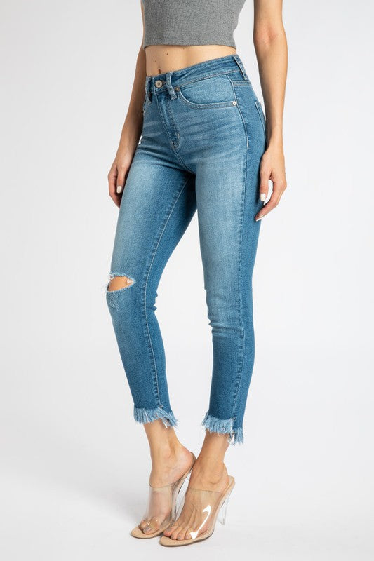 YOUNG & IN LOVE SKINNY DENIM | KANCAN Blu Spero online shopping