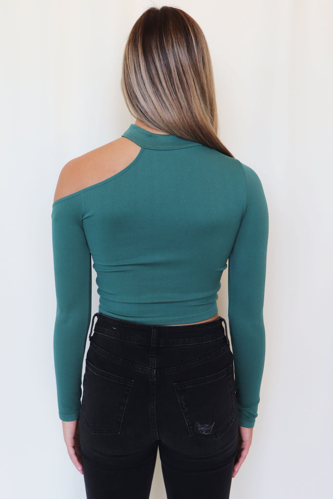 THINK ABOUT IT CROP TOP | NIC & JO Blu Spero online shopping