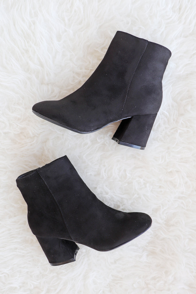 BLAIR BLACK BOOTIE | AMA GLOBAL Blu Spero online shopping