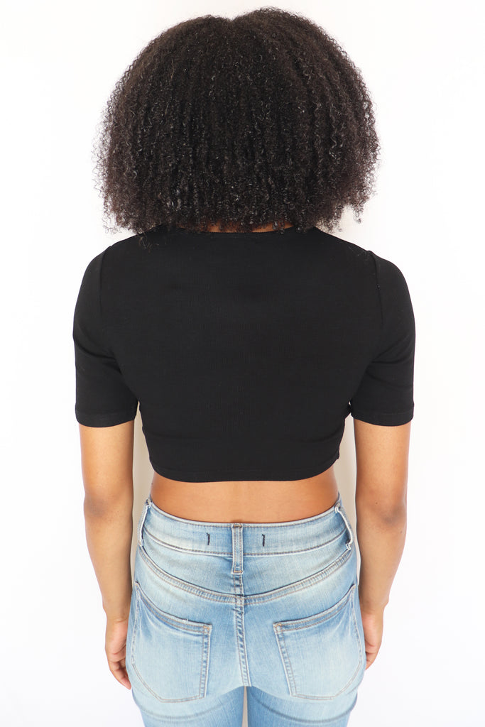 DANCE IN THE DARK CROP TOP – 2 COLORS | COTTON CANDY Blu Spero online shopping