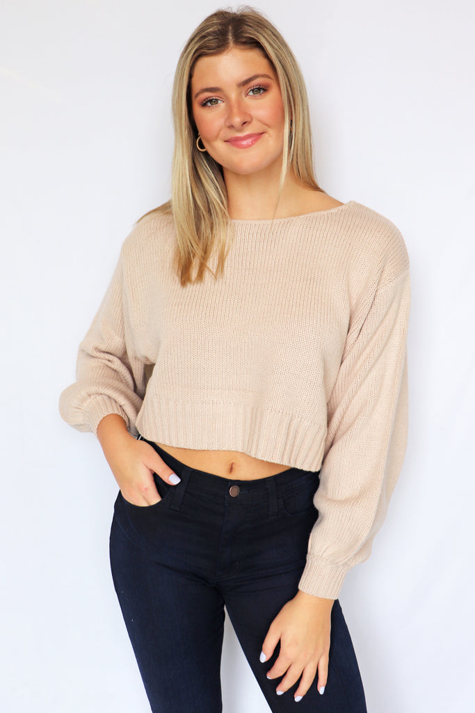 ALL OF THAT SAND SWEATER | HYFVE Blu Spero online shopping