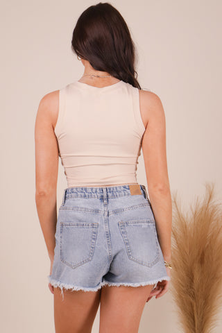 WOOD STOCK OFF-THE-SHOULDER TOP
