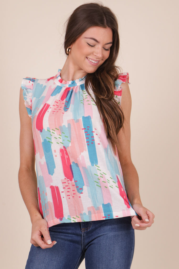 Denim Flare Jeans by Blu Spero