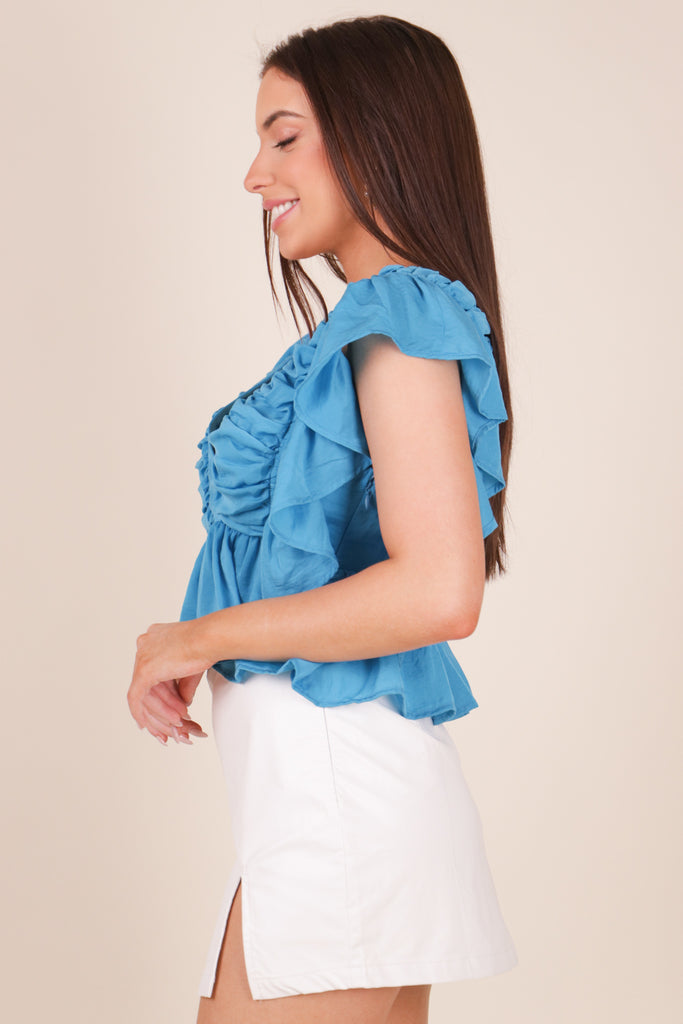 SPORTY SPICE COLOR BLOCK PULLOVER