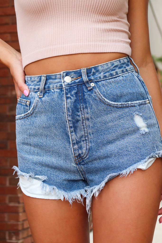 MOONLIGHT BLACK FAUX LEATHER TOP