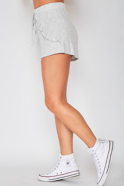 BORN TO LOUNGE GREY SHORTS | fantastic fawn Blu Spero online shopping