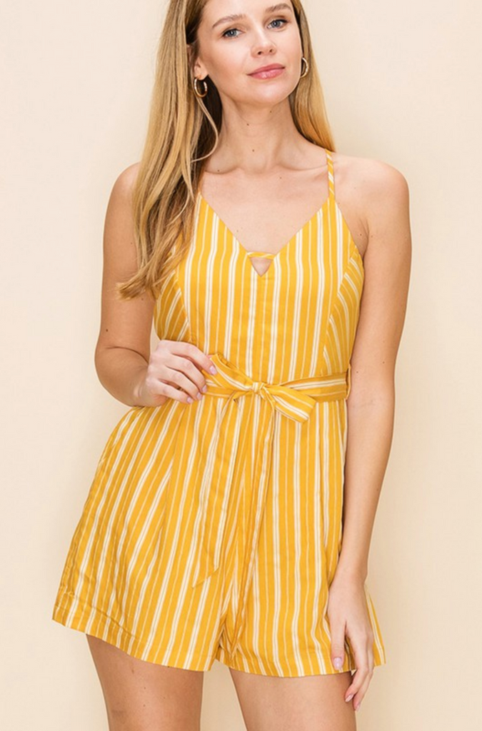 YOU'RE THE ZEST GOLD ROMPER | HYFVE Blu Spero online shopping