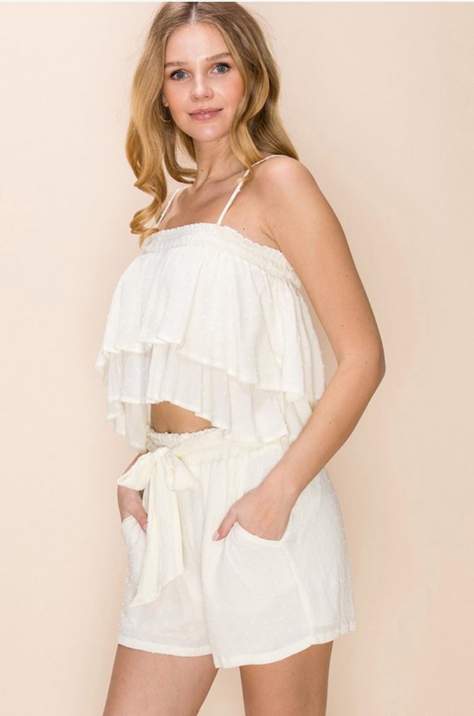 LOOK AT ME NOW WHITE TOP | HYFVE Blu Spero online shopping