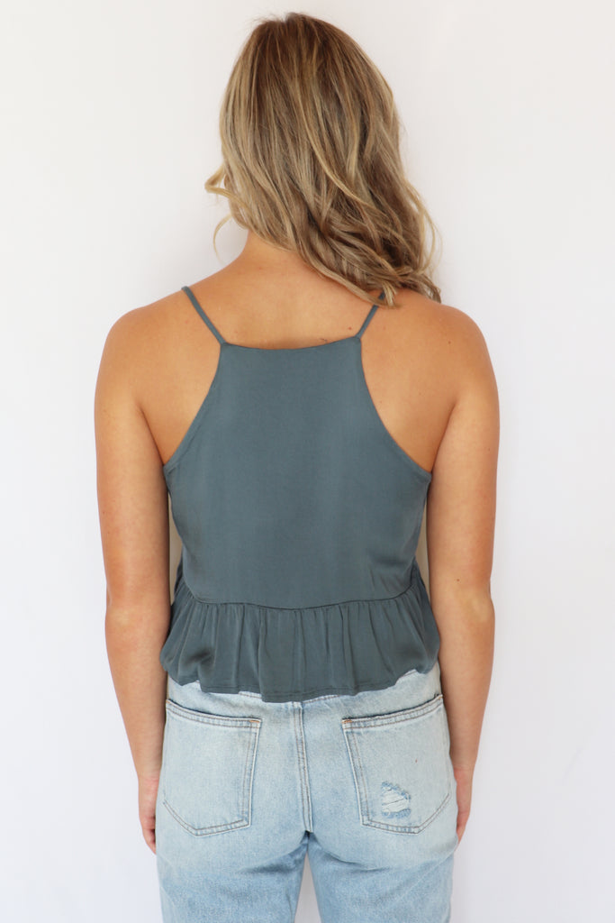 CLEARLY NOW CROP TOP - 2 COLORS