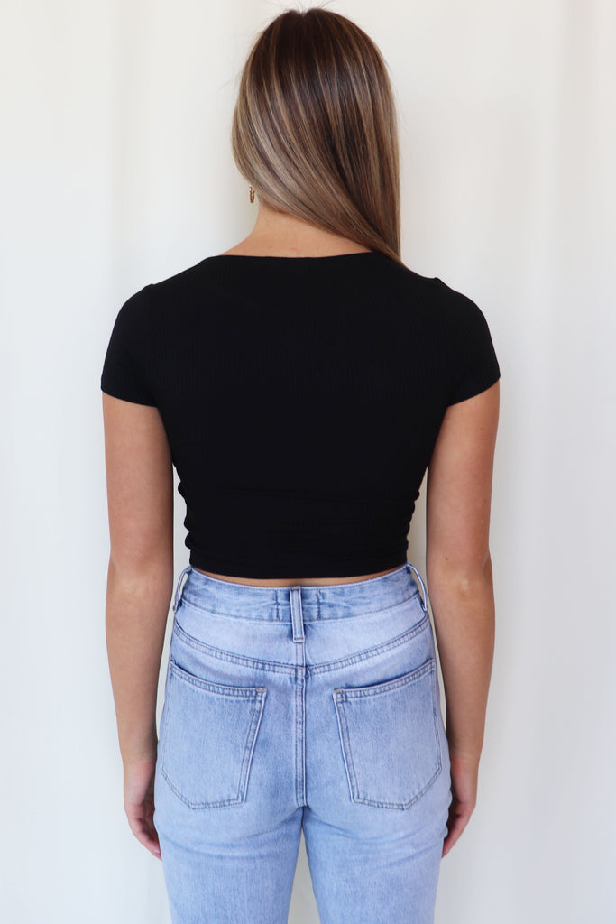 DOWN THE HIGHWAY CROP TOP | BLVD Blu Spero online shopping