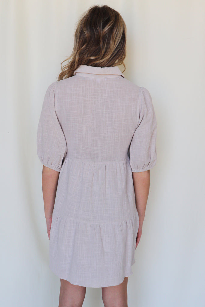 GOOD DAYS GAUZE SHIRT DRESS