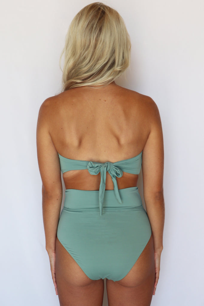 FEELING VINTAGE TUBE TOP BIKINI