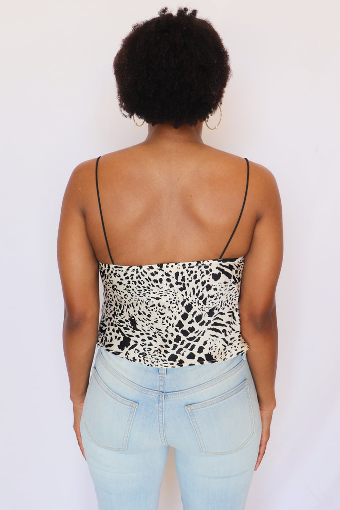 IGNITE YOUR LIGHT LEOPARD CAMI