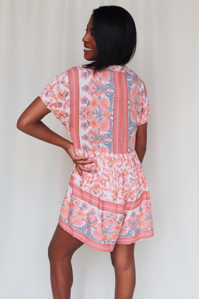 LET YOUR HAIR DOWN ROMPER