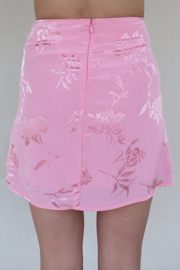 FEELING BRIGHT PINK MINI SKIRT