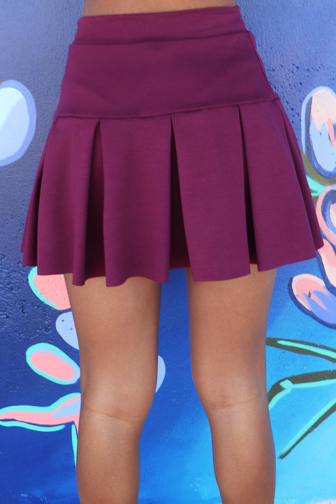 STAY WITH ME MINI SKIRT | BLUE BLUSH Blu Spero online shopping