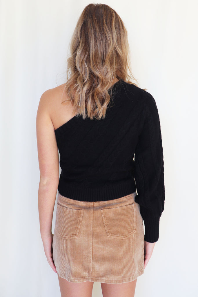 SAVE THE DAY CORDUROY SKIRT | SHE + SKY Blu Spero online shopping