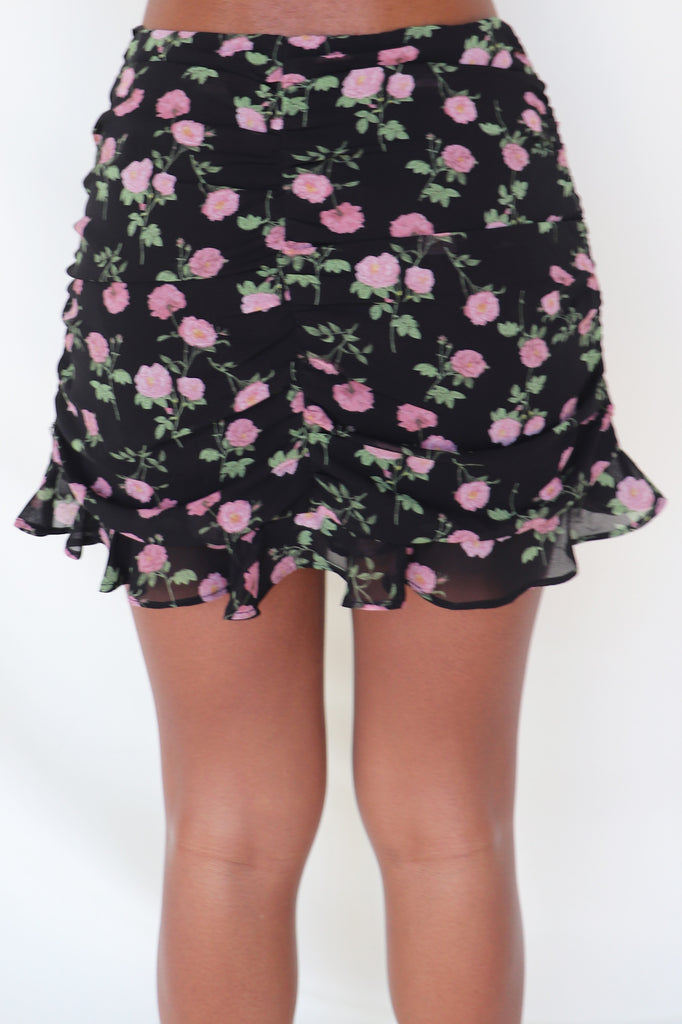 SHADES OF COOL MINI SKIRT - 2 COLORS